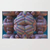 totem Area & Throw Rugs featuring Totem by Lyle Hatch