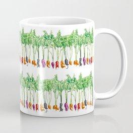 Funky Vegetables Coffee Mug