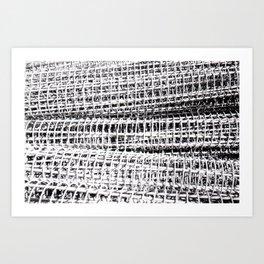Rebar .....  Art Print