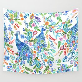 Peacock 2 Wall Tapestry