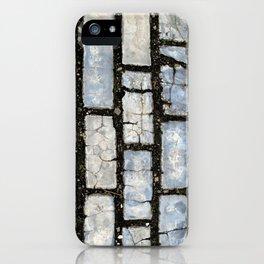 Blue Street Grid iPhone Case