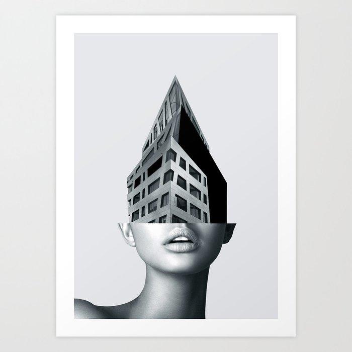 portrait (architecture) Kunstdrucke
