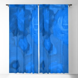 Blue Garden Blackout Curtain