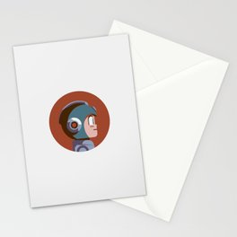 Headgear - Mega Man Stationery Cards