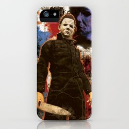 "Michael Myers Halloween ""The Curse of Thorne"" iPhone Case"