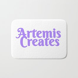 Artemis Creates Main Logo Bath Mat