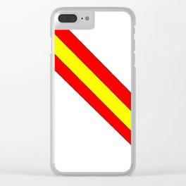 Flag of spain 7-spain,espana, spanish,plus ultra,espanol,Castellano,Madrid,Barcelona Clear iPhone Case
