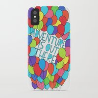 adventure is out there iPhone & iPod Cases featuring Adventure by Brown Martian