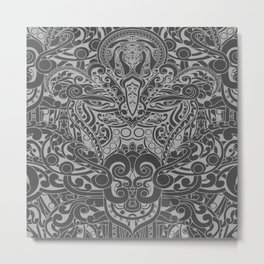 Balinese Abstract Art2 Metal Print