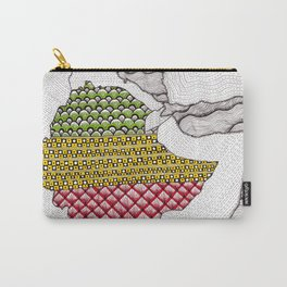 Patterns on Ethiopia Carry-All Pouch