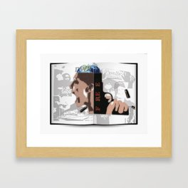 The book vol.1 Framed Art Print