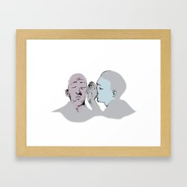 whisper Framed Art Print