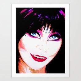 Mistress of the Dark Art Print