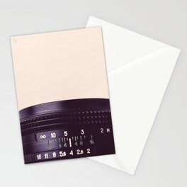 Camera Lens Detail Stationery Cards
