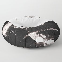 Bring More Knowledge With You (Deconstructed Polyscape 4) Floor Pillow