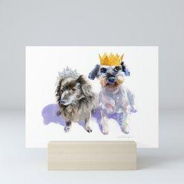 Canine Royalty Mini Art Print