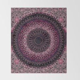 Rosewater Tapestry Mandala Throw Blanket