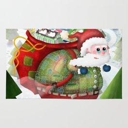 Christmas holiday Rug