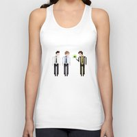 the office Tank Tops featuring The Office by LOVEMI DESIGN