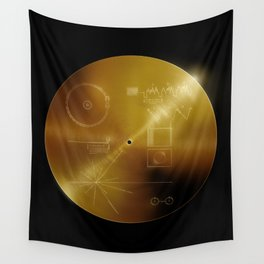 Voyager Golden Record Wall Tapestry