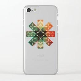 Technicolor Dream-o-Scope Clear iPhone Case
