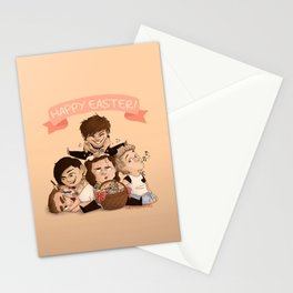 Happy OT5 Easter Stationery Cards
