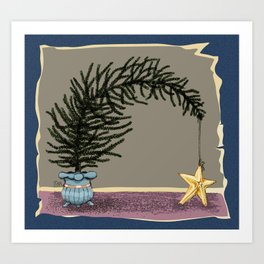 Fallen Star Art Print
