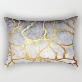 KINTSUGI  ::  Recognise Beauty Rectangular Pillow