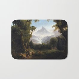 Thomas Cole The Garden of Eden Bath Mat