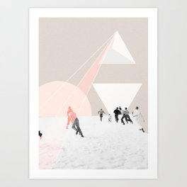 From the sky Art Print