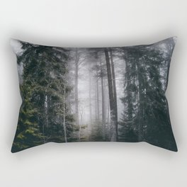 Into the forest we go Rectangular Pillow