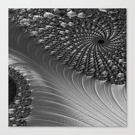 Grey Scale Canvas Print