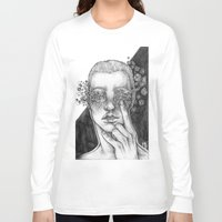 diamonds Long Sleeve T-shirts featuring Diamonds by Purple Enma Art