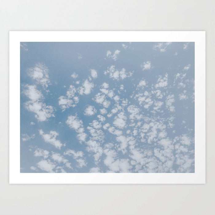 summer clouds Kunstdrucke