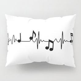MUSICAL HEART BEAT Pillow Sham