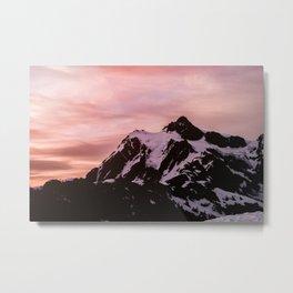 Mountain Fireworks - 66/365 Nature Photography Metal Print