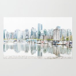 Vancouver Skyline Rug