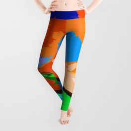 Biplane Aerobatics Leggings