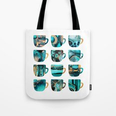 My Favorite Coffee Cups Tote Bag