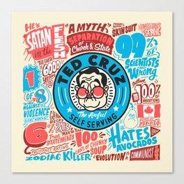 Cruz Flyer Canvas Print