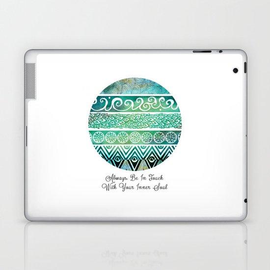 Tribal Evolution Series Laptop & iPad Skin