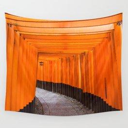 Fushimi Inari Walkway Wall Tapestry