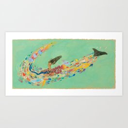 The Swirl Art Print