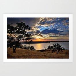 Hensley Lake Art Print