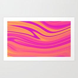 Slush Art Print
