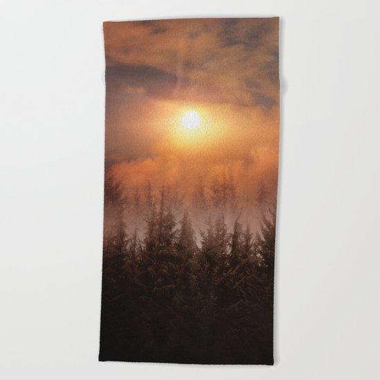 A new beginning IX Beach Towel