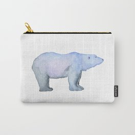 Les Animaux: Polar Bear Carry-All Pouch