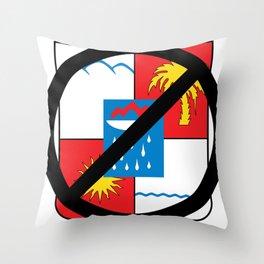 Boycott Sochi Throw Pillow