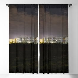 City at night Blackout Curtain