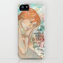 Return by patsy paterno iPhone Case